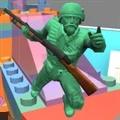 泡泡弹玩具兵人世界