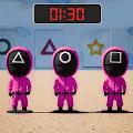 粉红小队跑停